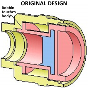 Original Design for Fuel Injector Bobbin