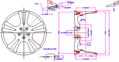 Illustration from G.V.S.S. Sharma, P. Srinivasa Rao, B. Surendra Babu Wheel Machining research paper